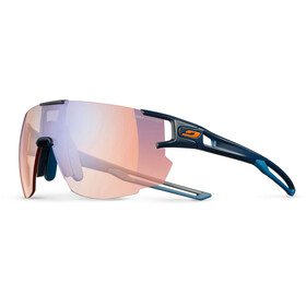 Julbo Aerospeed Segment Light Red Lunettes de soleil, dark blue/dark blue/orange-multilayer blue